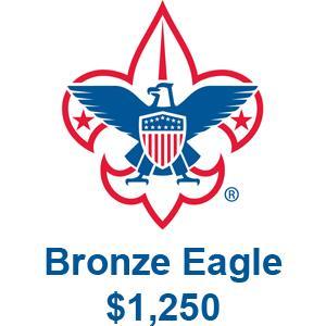 $1,250 - Bronze Eagle